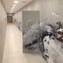 Микроцемент. Апартаменты в Москве.Площадь работ 500 кв.м.