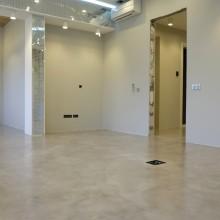 Микробетон.Декоративный бетонный пол.