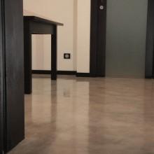 Декоративный бетон.Декоративный бетонный пол из Микробетона.