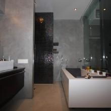 Микроцемент (microcemento)  Ванная комната.