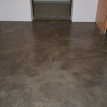 Декоративный пол из бетона.